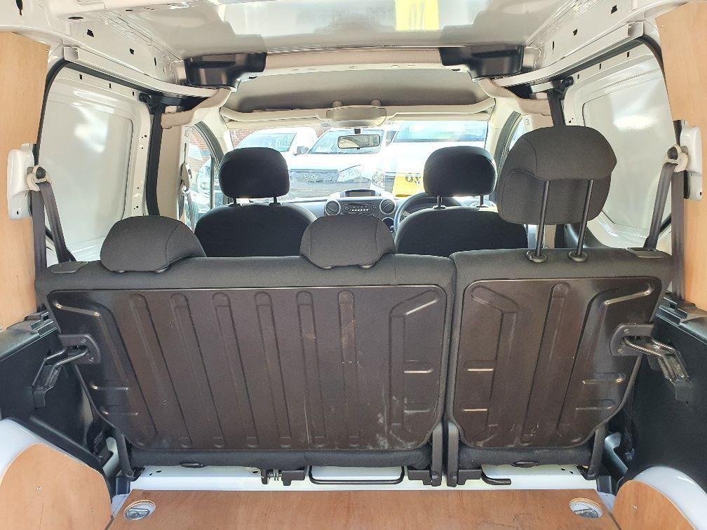 2017 Peugeot Partner 715 S 1.6 Bluehdi 100 Crew Van (NU17VZH) Image 13