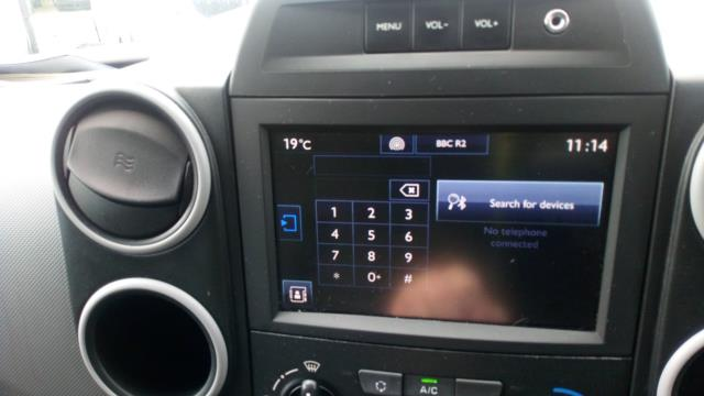 2017 Peugeot Partner 850 1.6 Bluehdi 100 Professional Van [Non Ss] (NU17XLL) Image 15