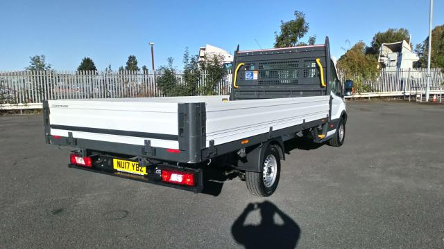 2017 Ford Transit 2.0 Tdci 130Ps Chassis Cab (NU17YBZ) Image 7