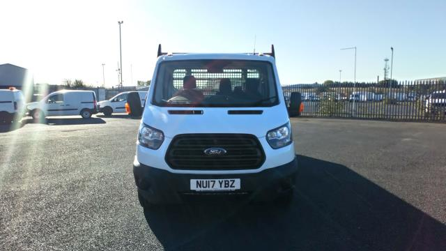 2017 Ford Transit 2.0 Tdci 130Ps Chassis Cab (NU17YBZ) Image 2
