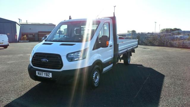 2017 Ford Transit 2.0 Tdci 130Ps Chassis Cab (NU17YBZ) Image 3