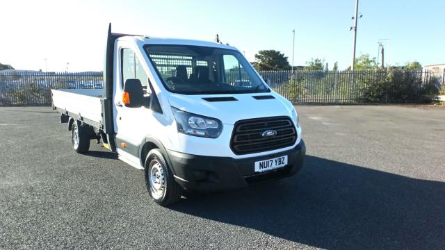 2017 Ford Transit 2.0 Tdci 130Ps Chassis Cab (NU17YBZ) Image 1