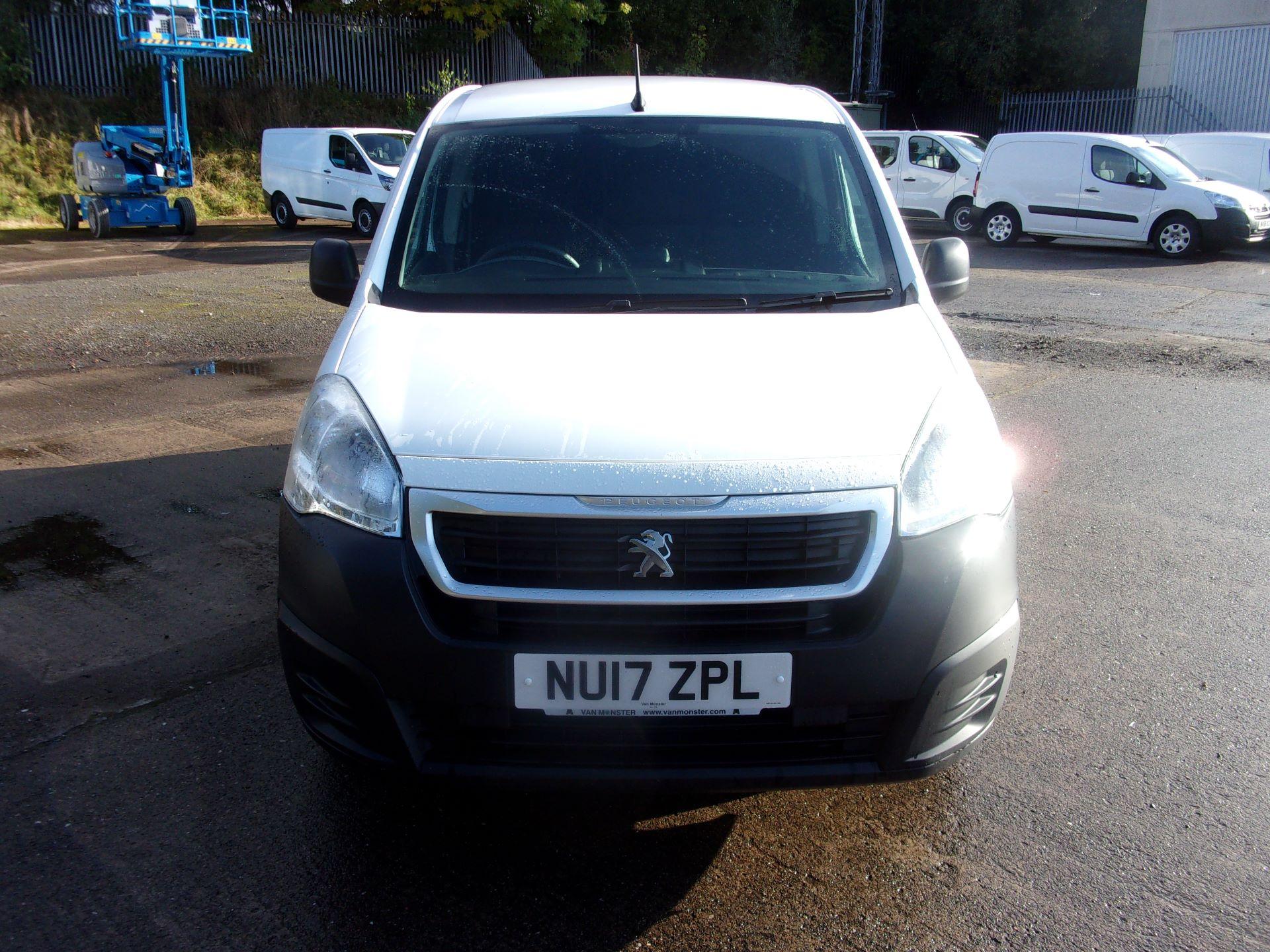 2017 Peugeot Partner 850 1.6 Bluehdi 100 Professional Van [Non Ss] (NU17ZPL) Image 18