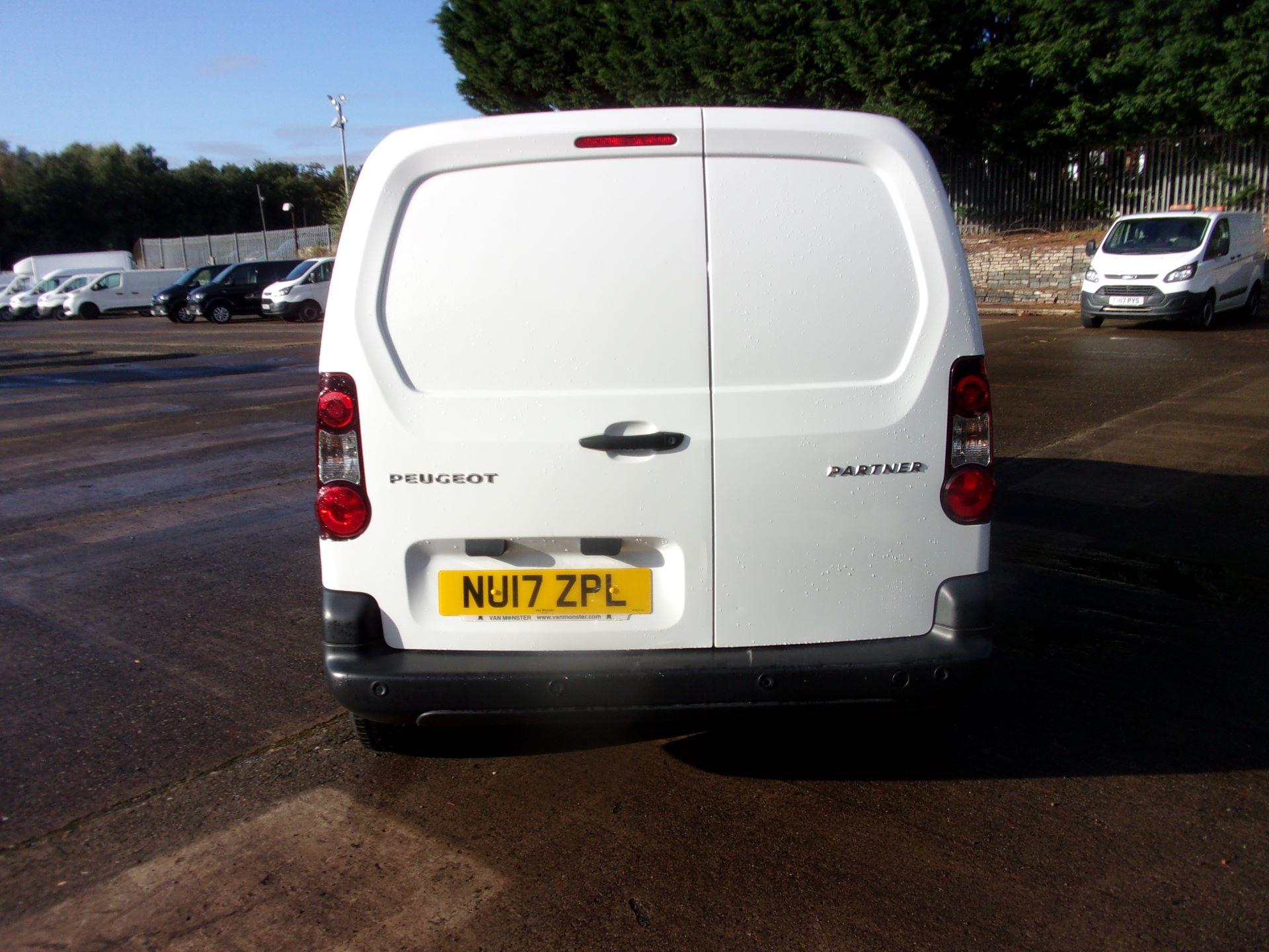 2017 Peugeot Partner 850 1.6 Bluehdi 100 Professional Van [Non Ss] (NU17ZPL) Image 13