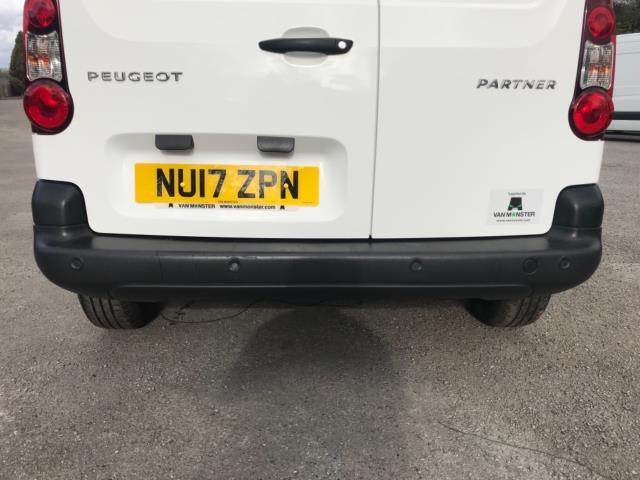 2017 Peugeot Partner 850 1.6 Bluehdi 100 Professional Van [Non Ss] Euro 6 (NU17ZPN) Image 38