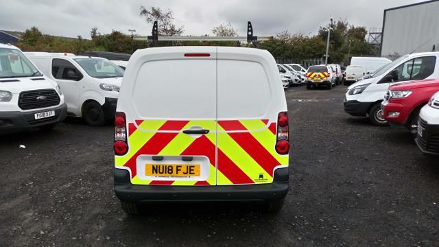 2018 Peugeot Partner 850 1.6 Bluehdi 100 Professional Van [Non Ss] (NU18FJE) Image 5