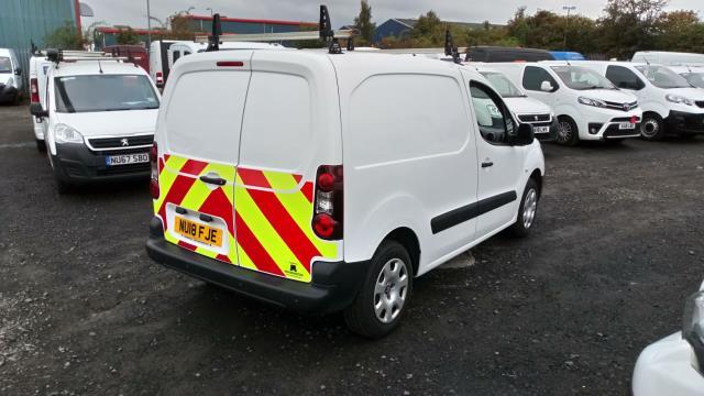 2018 Peugeot Partner 850 1.6 Bluehdi 100 Professional Van [Non Ss] (NU18FJE) Image 4