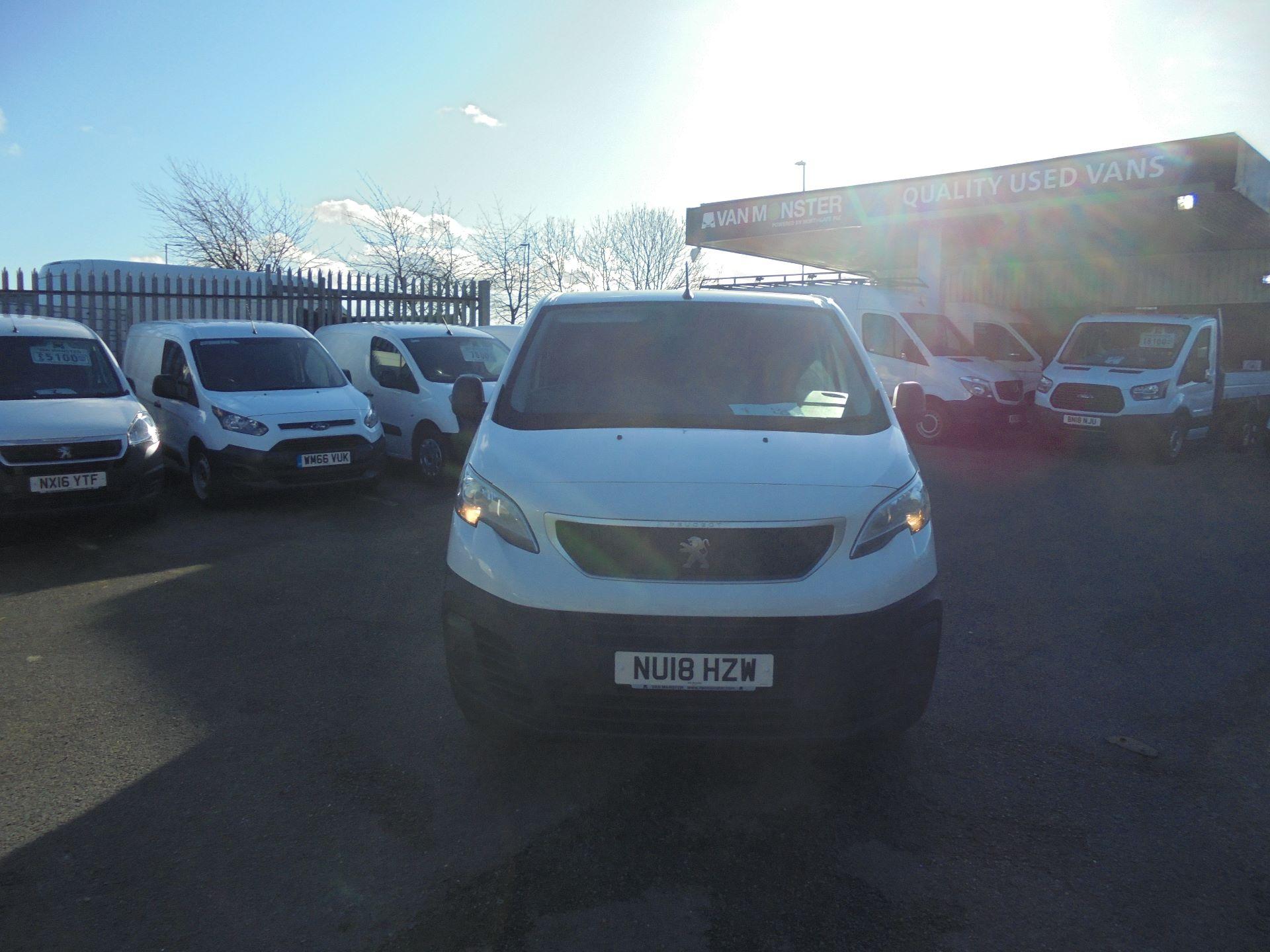 2018 Peugeot Expert 1000 1.6 Bluehdi 95 Professional Van (NU18HZW) Image 2