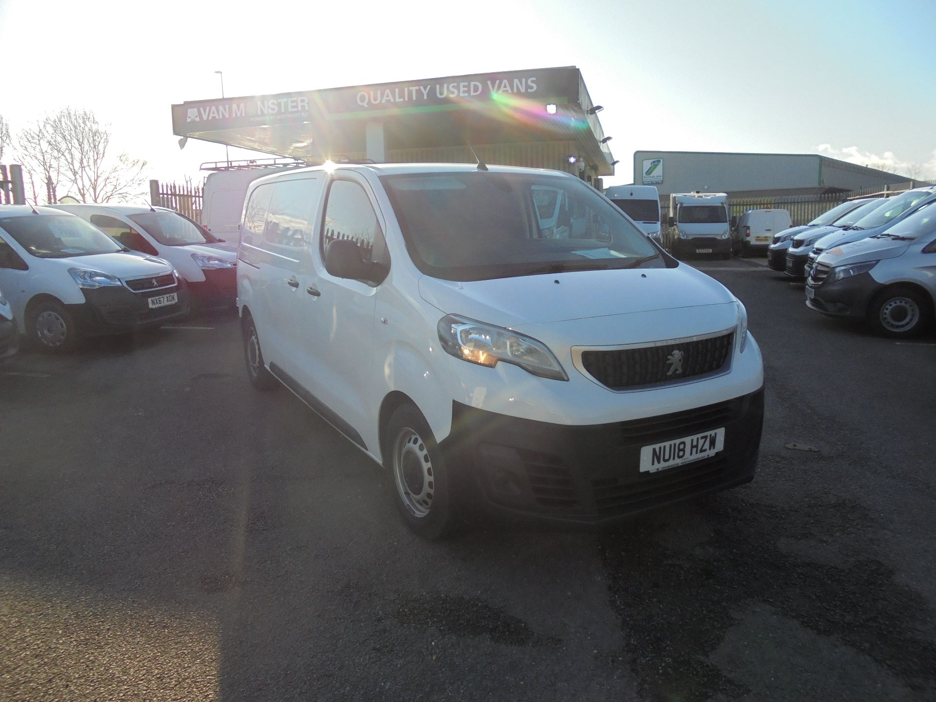 2018 Peugeot Expert 1000 1.6 Bluehdi 95 Professional Van (NU18HZW)