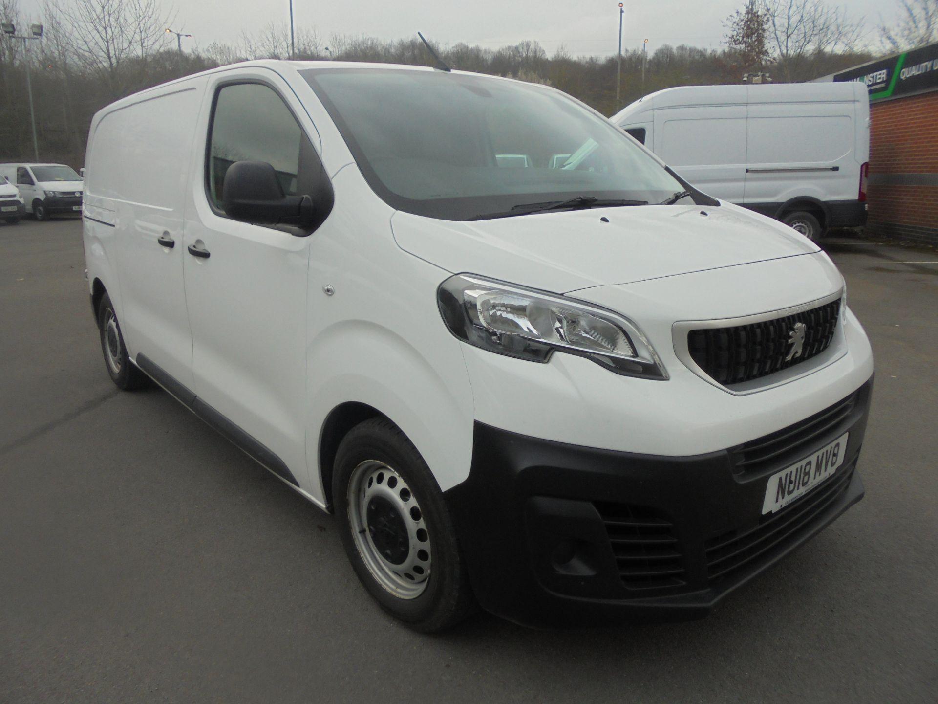 2018 Peugeot Expert 1000 1.6 Bluehdi 95 Professional Van (NU18MVO)