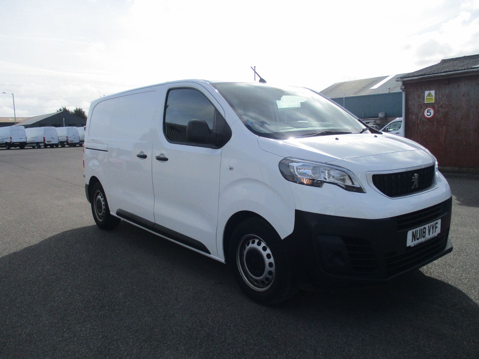 2018 Peugeot Expert STANDARD 1000 1.6 BLUE HDI 95 PROFESSIONAL EURO 6. AIR CON (NU18VYF)