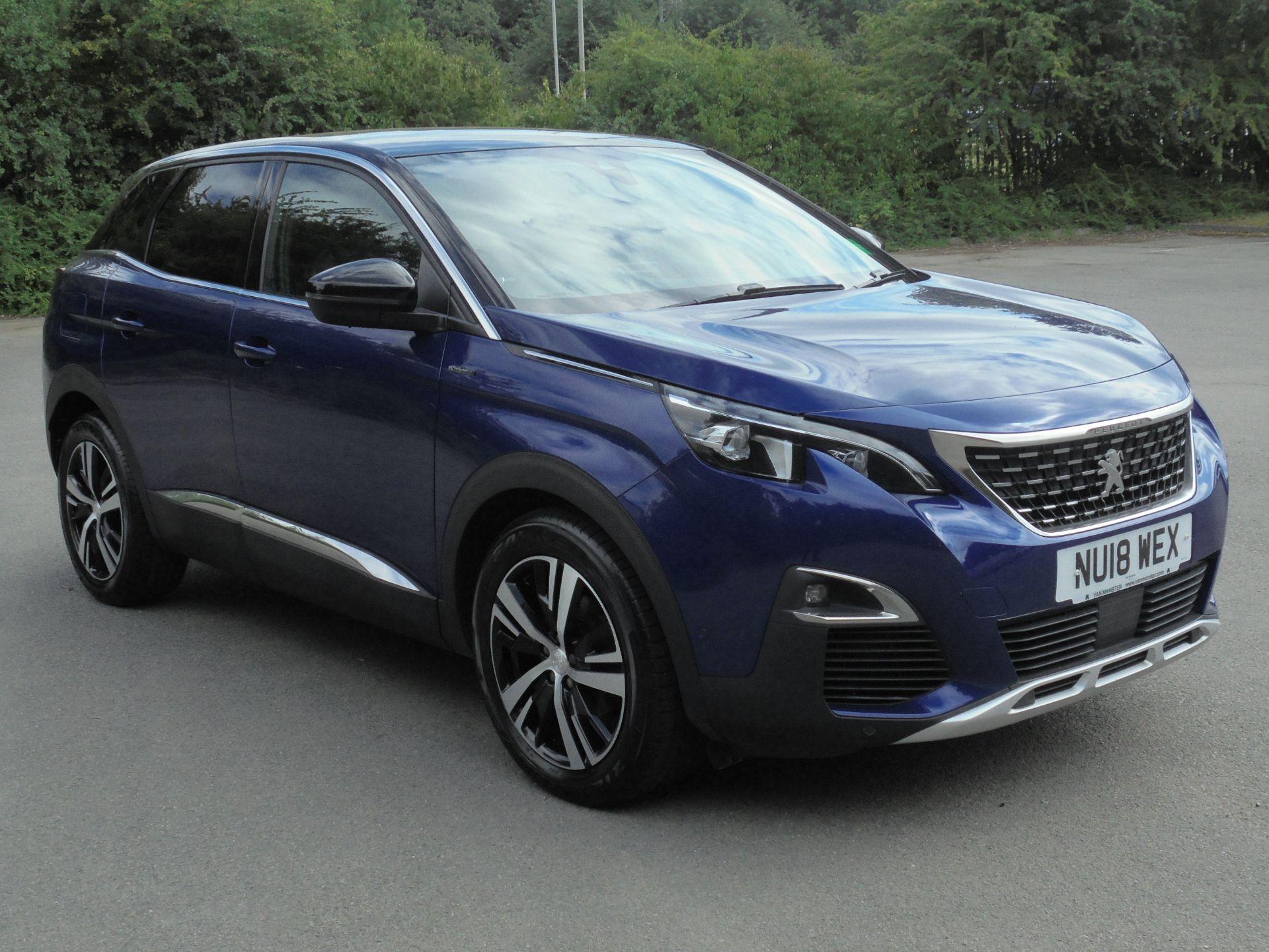 2018 Peugeot 3008 1.6 Bluehdi 120 Gt Line 5Dr (NU18WEX)