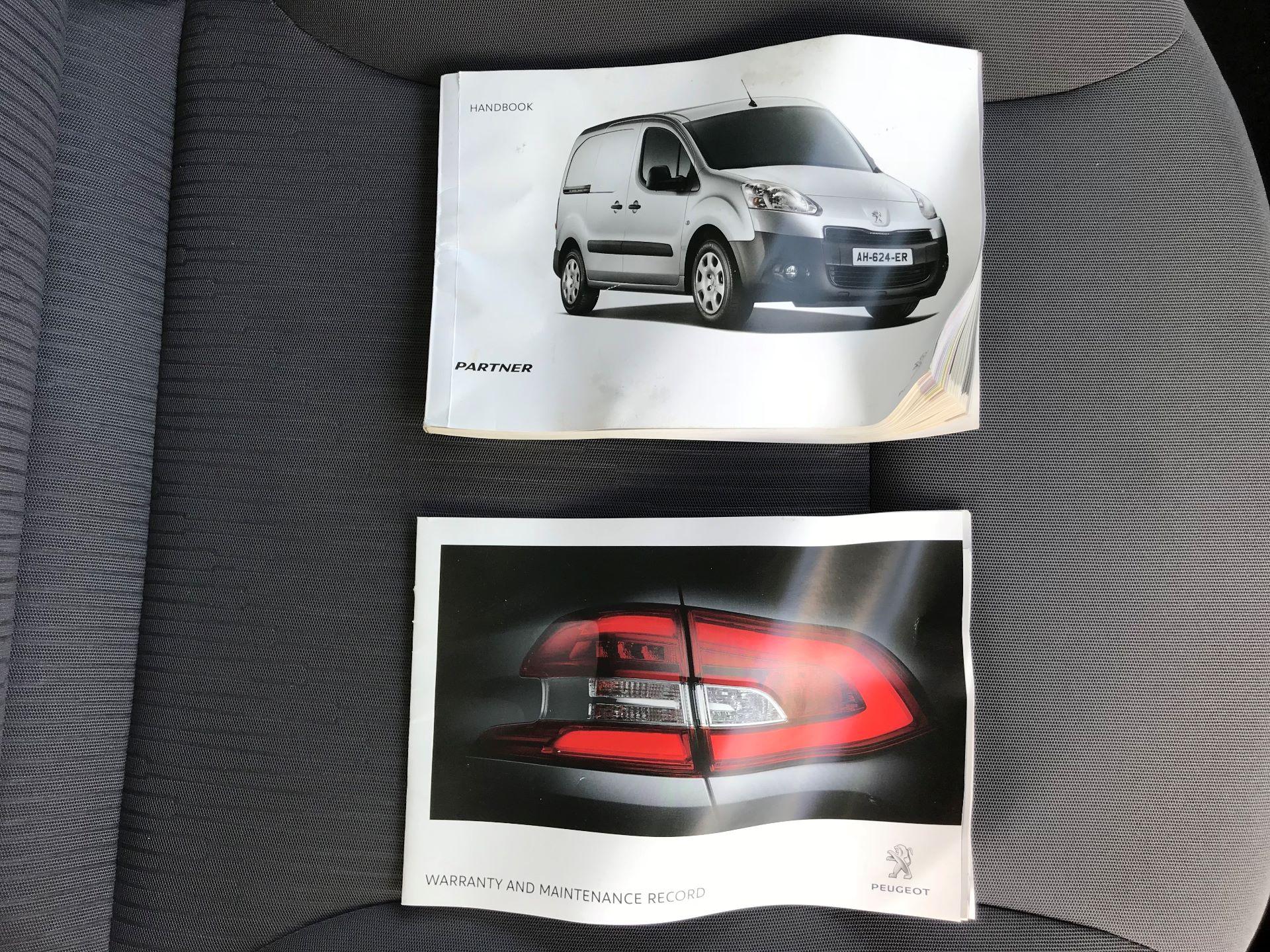 2014 Peugeot Partner L1 850 S 1.6 92PS (SLD) EURO 5 (NU64DHE) Image 31