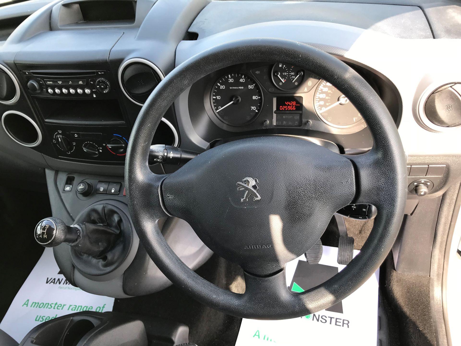 2014 Peugeot Partner L1 850 S 1.6 92PS (SLD) EURO 5 (NU64DHE) Image 24