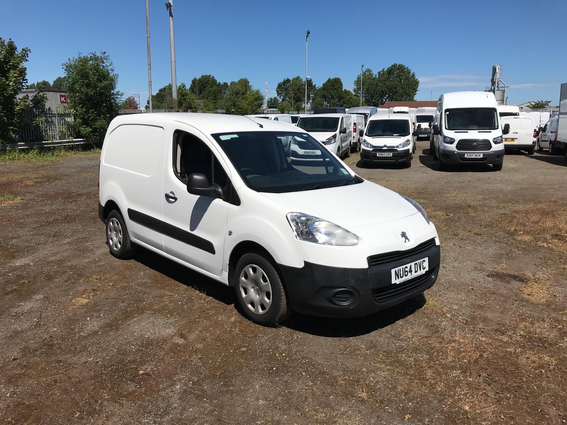 2014 Peugeot Partner 850 S 1.6 Hdi 92 Van [Sld] (NU64DVC)
