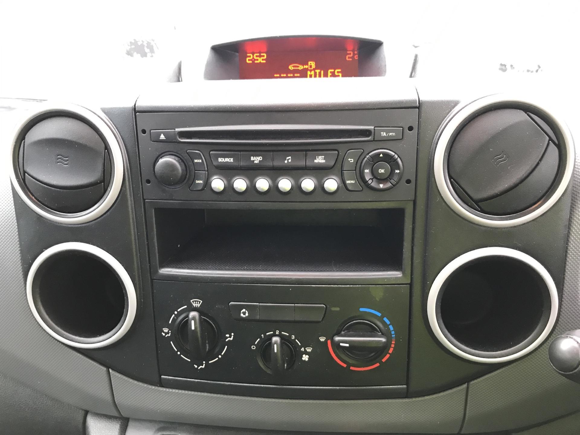 2014 Peugeot Partner L1 850 S 1.6HDI 92PS EURO 5 (NU64DWM) Image 10
