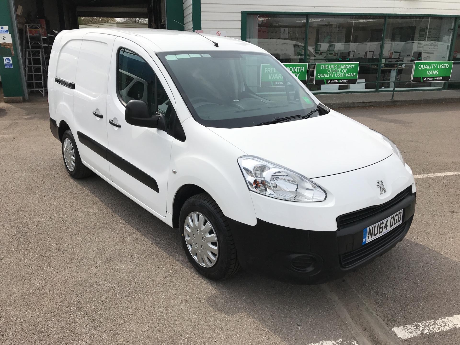 2014 Peugeot Partner L2 750 S 1.6 Hdi 92 Van (NU64OGD)