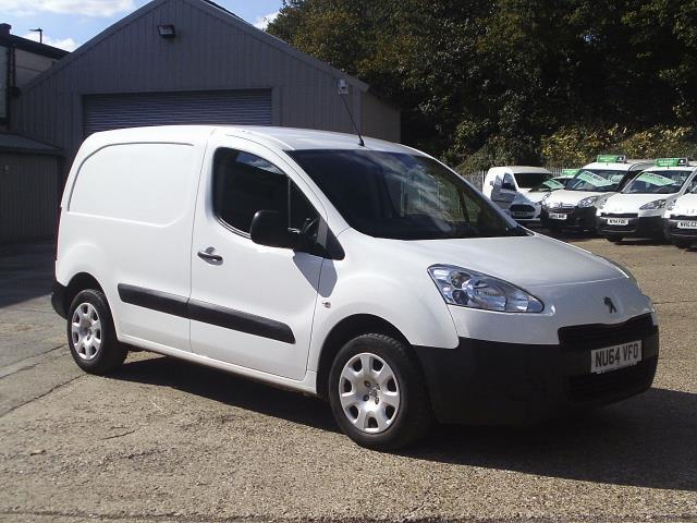 2014 Peugeot Partner L1 850 S 1.6 92PS (SLD) EURO 5 (NU64VFO) Image 1