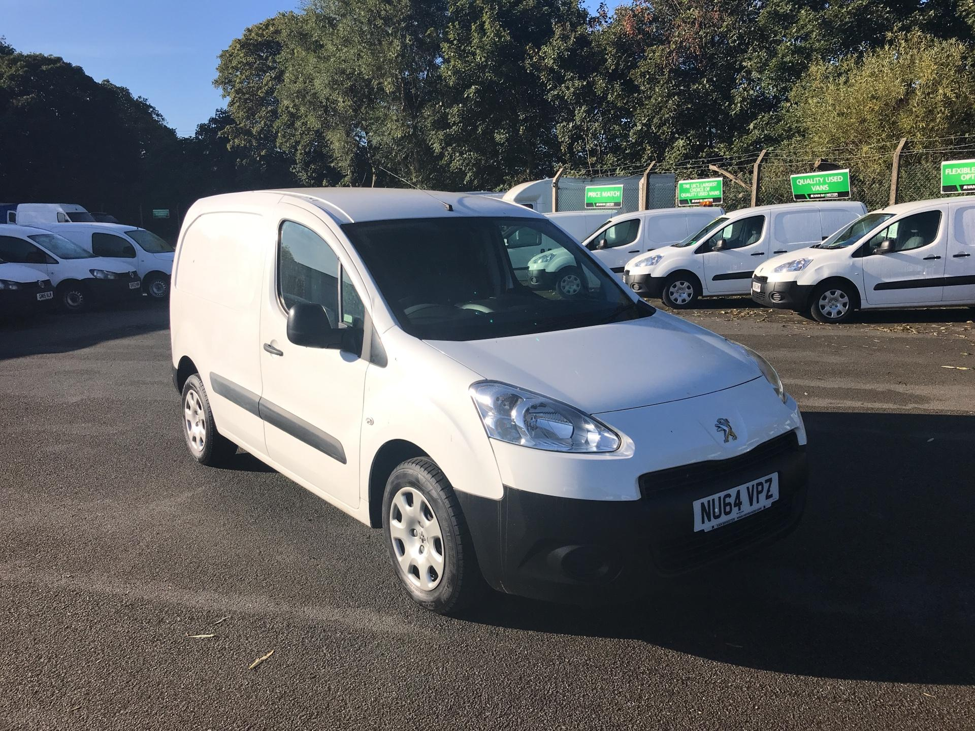 2014 Peugeot Partner L1 850 S 1.6 92PS (SLD) EURO 5 *VALUE RANGE VEHICLE - CONDITION REFLECTED IN PRICE* (NU64VPZ)