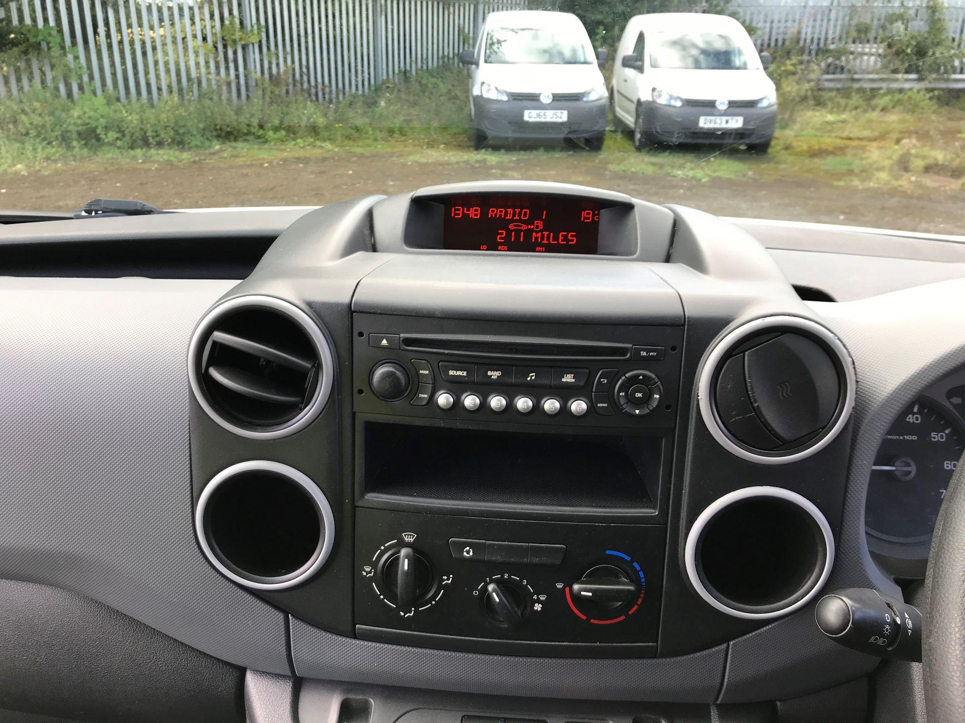2014 Peugeot Partner 850 S 1.6 Hdi 92 Van [Sld] (NU64WKM) Image 14