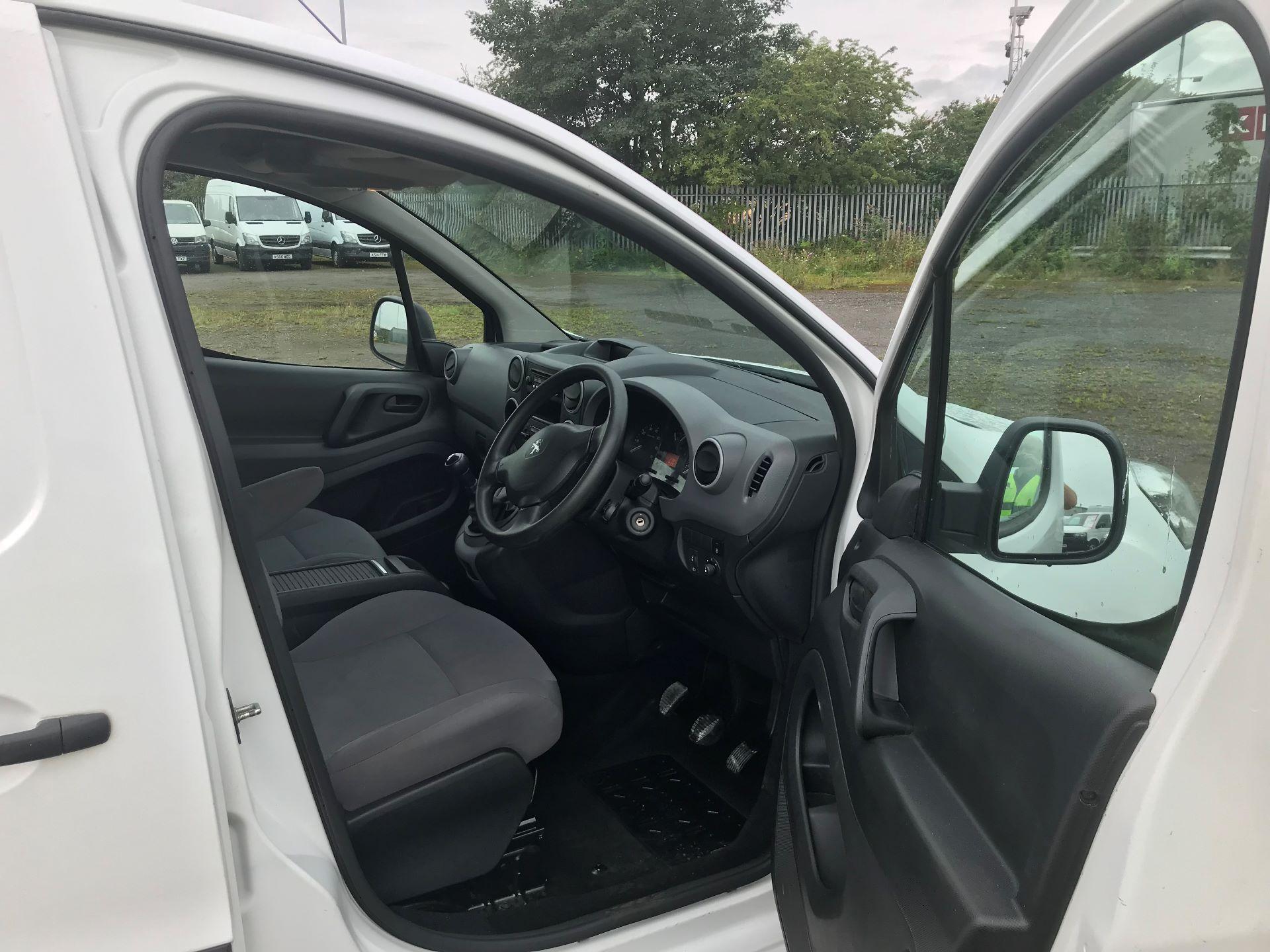 2014 Peugeot Partner 750 S 1.6 Hdi 92 Van (NU64ZGM) Image 10