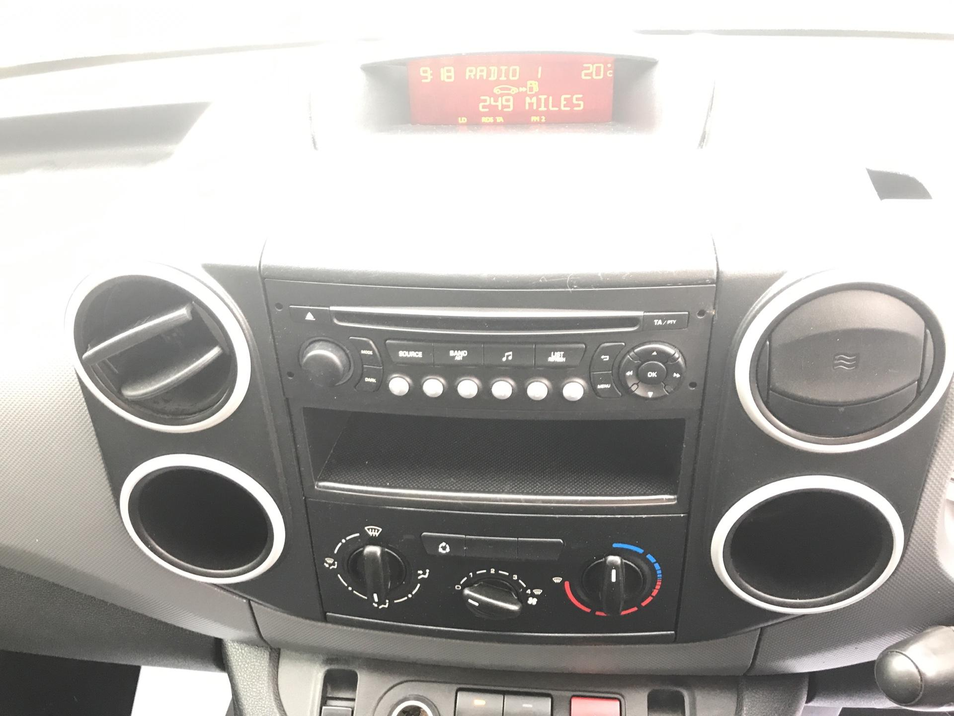 2014 Peugeot Partner L1 850 S 1.6 92PS (SLD) EURO 5 (NU64ZTZ) Image 10