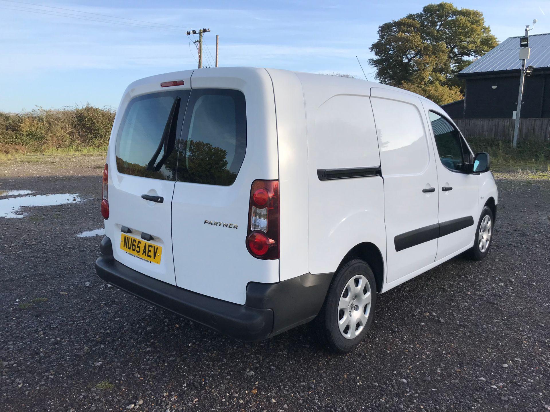 2015 Peugeot Partner 716 S 1.6 Hdi 92 Crew Van (NU65AEV) Image 4