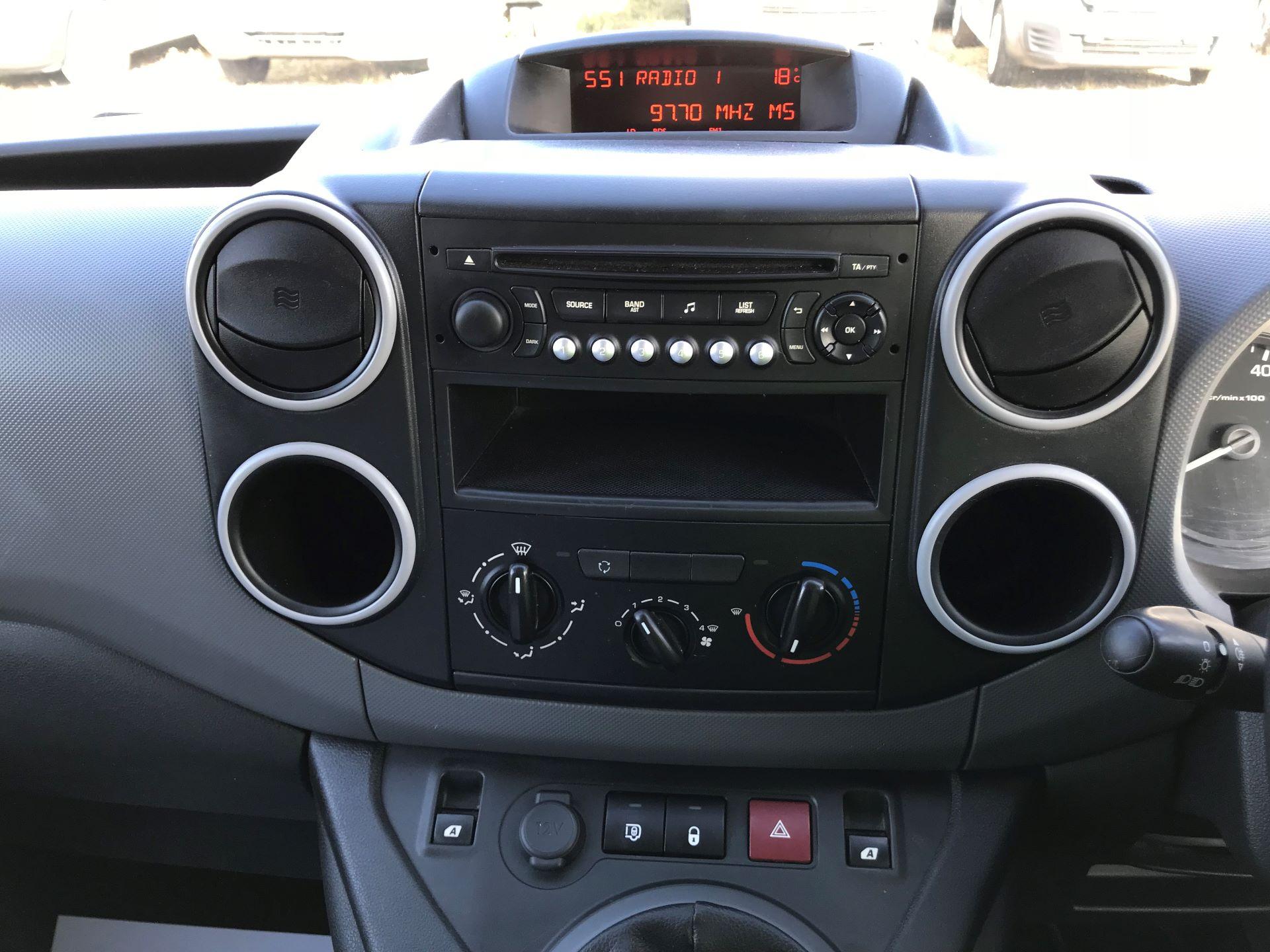 2015 Peugeot Partner L1 850 S 1.6 92PS (SLD) EURO 5 (NU65BZG) Image 19