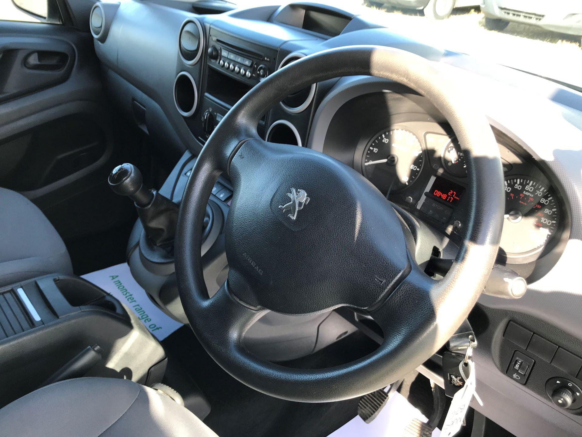 2015 Peugeot Partner L1 850 S 1.6 92PS (SLD) EURO 5 (NU65BZG) Image 17