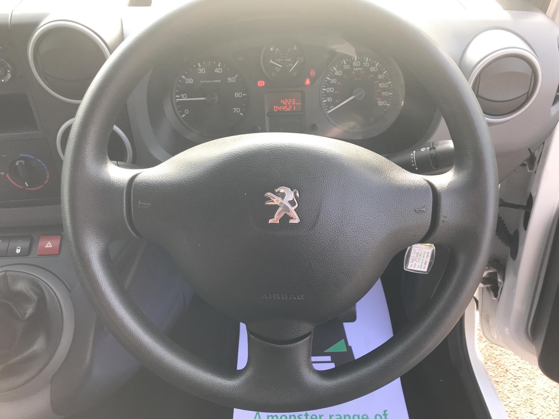 2015 Peugeot Partner 850 S 1.6 Hdi 92 Van [Sld] Euro 5 (NU65CLX) Image 12
