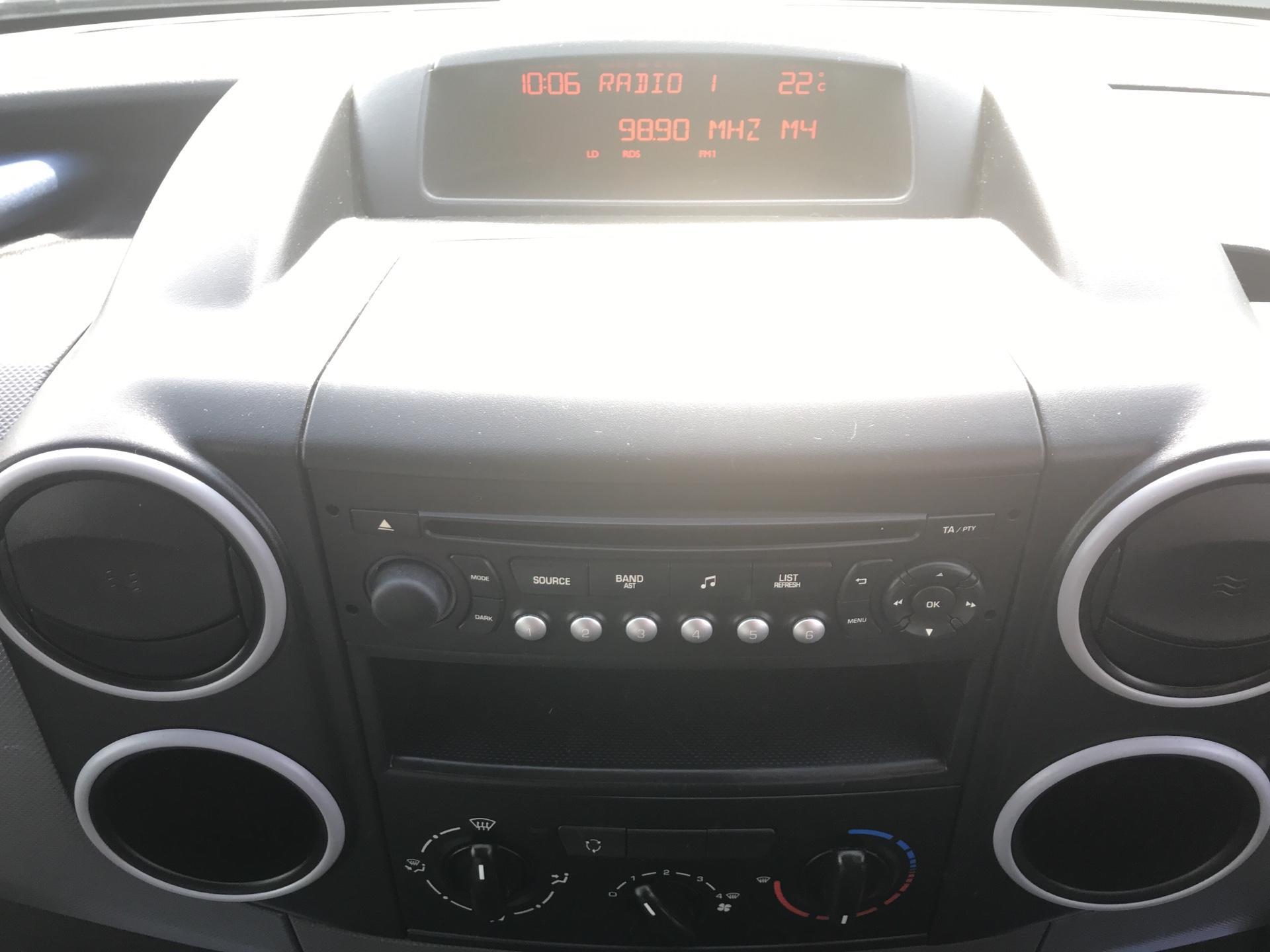 2015 Peugeot Partner 850 S 1.6 Hdi 92 Van [Sld] Euro 5 (NU65CLX) Image 10
