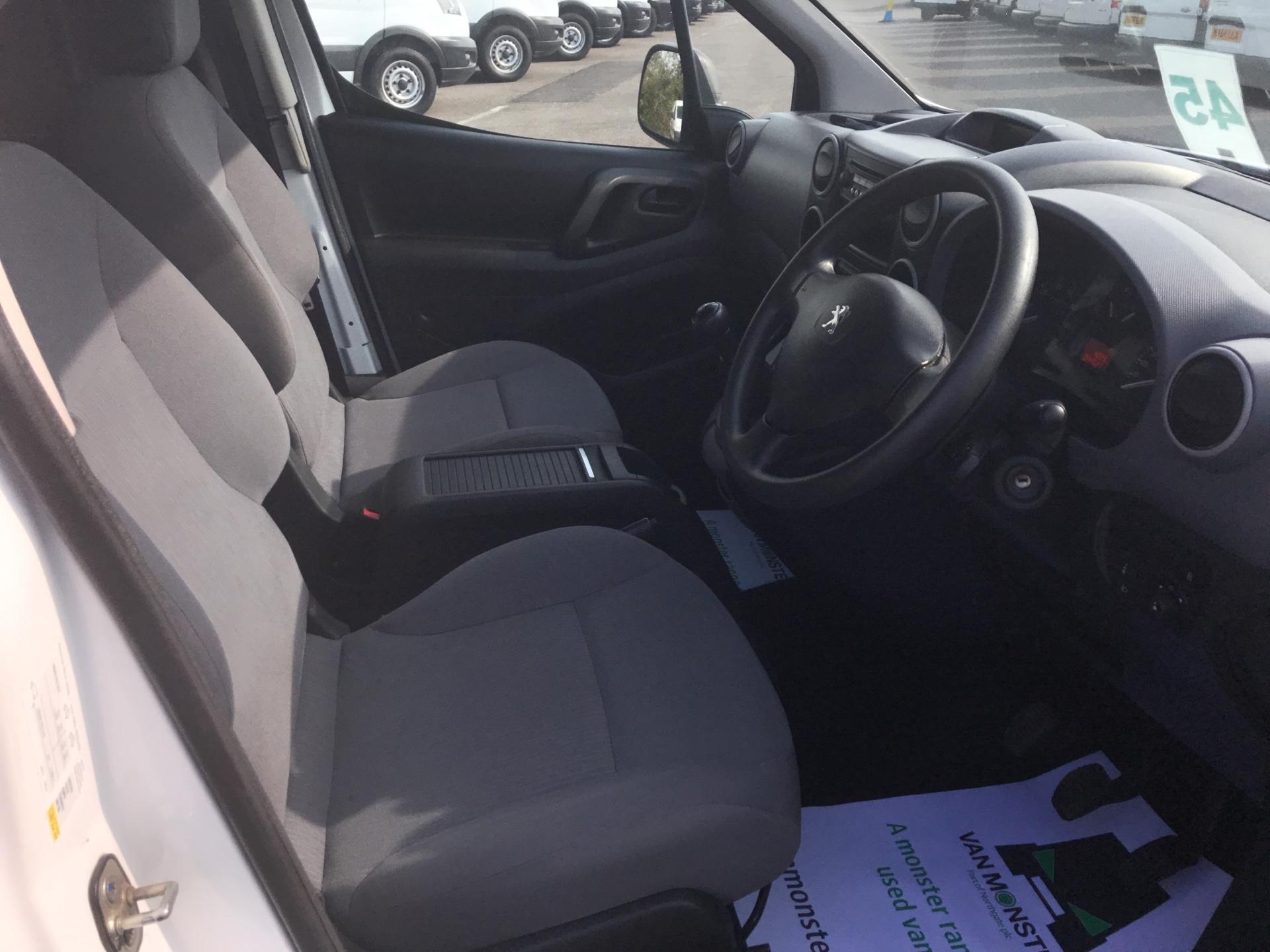2015 Peugeot Partner 850 S 1.6 Hdi 92 Van [Sld] Euro 5 (NU65CLX) Image 9