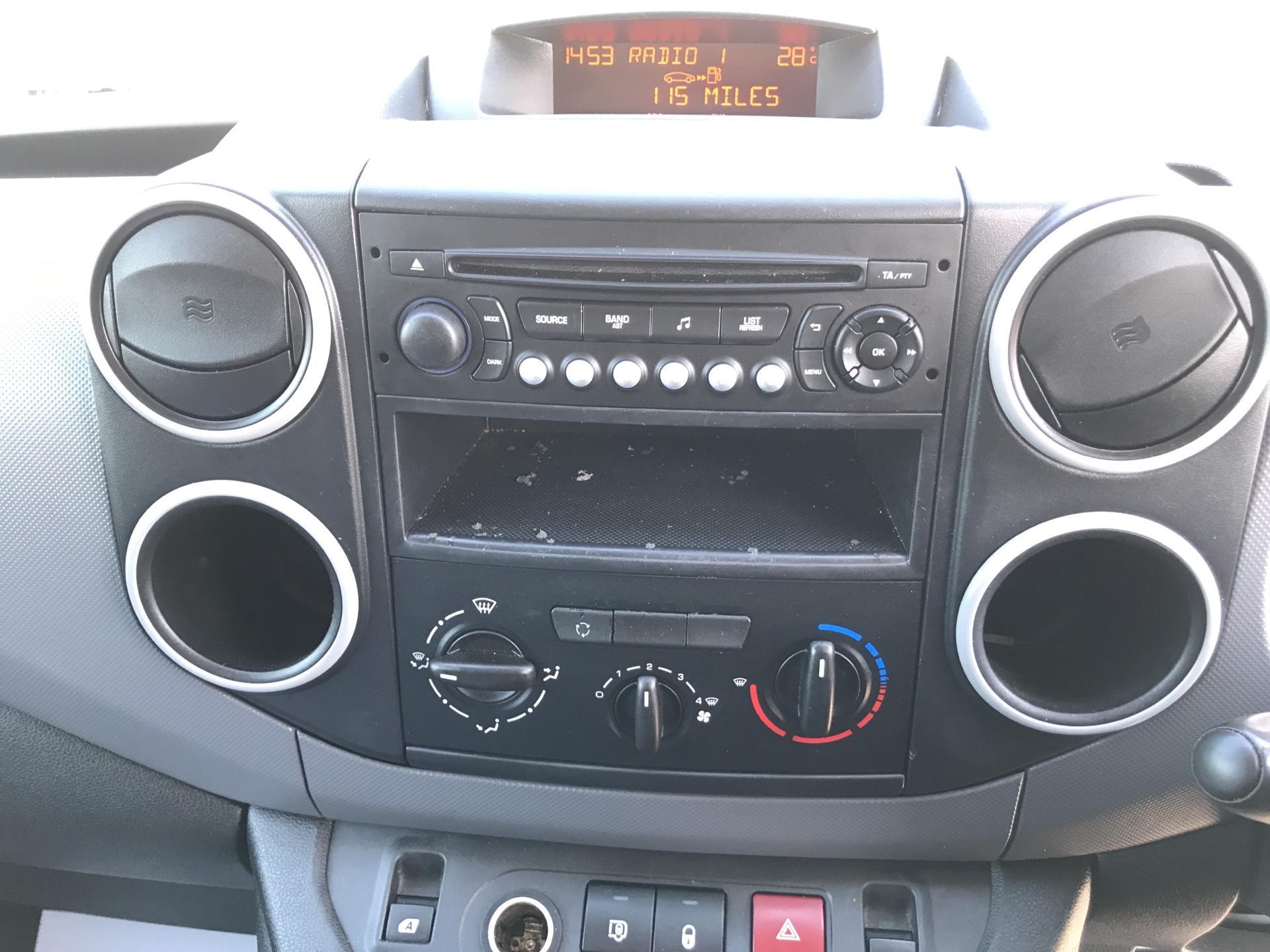 2016 Peugeot Partner L1 850 S 1.6 92PS (SLD) EURO 5 (NU65CVA) Image 10