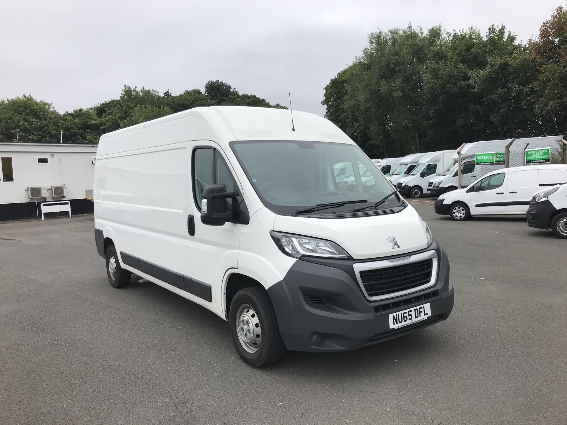 2015 Peugeot Boxer 335 2.2 HDI L3 H2 VAN 130PS *VALUE RANGE VEHICLE - CONDITION REFLECTED IN PRICE* (NU65DFL)