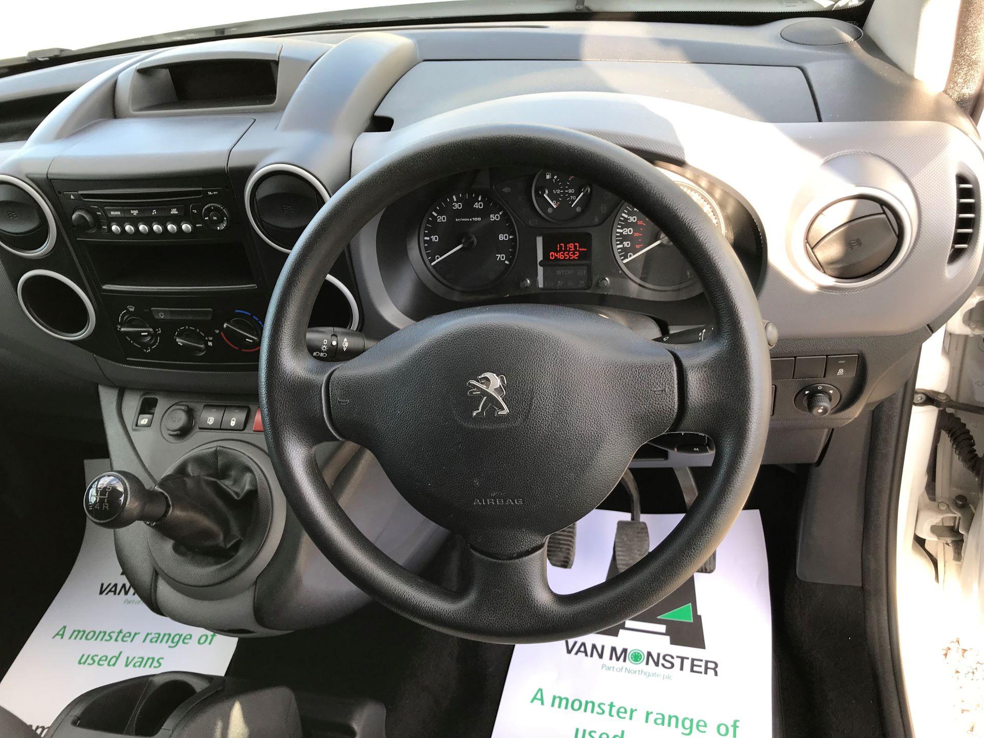 2015 Peugeot Partner L1 850 S 1.6 92PS (SLD) EURO 5 (NU65HTJ) Image 24