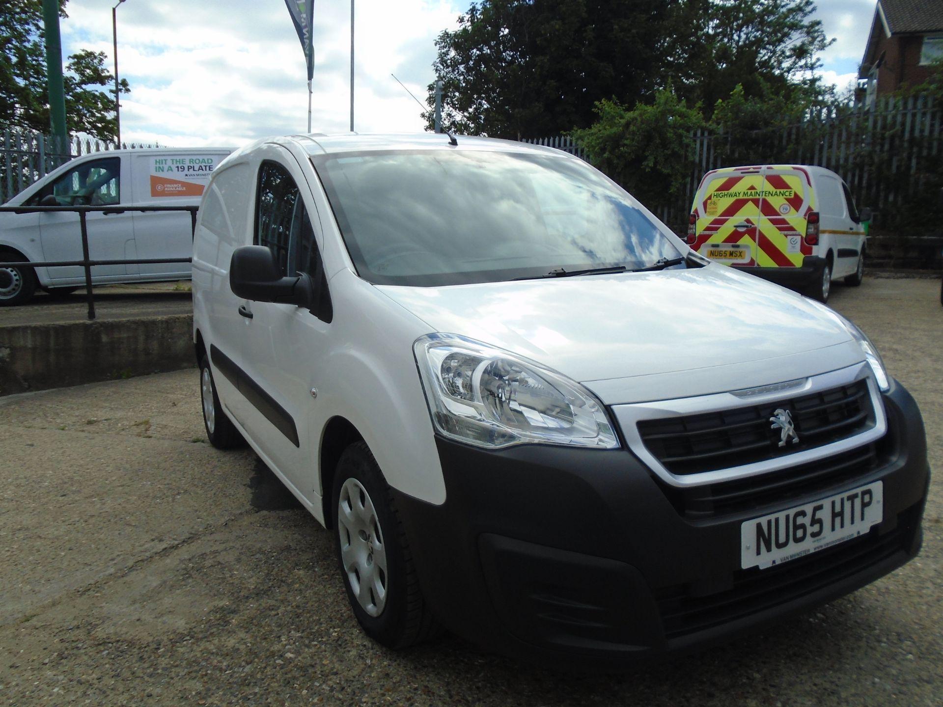 2015 Peugeot Partner 850 S 1.6 Hdi 92 Van [Sld] (NU65HTP)