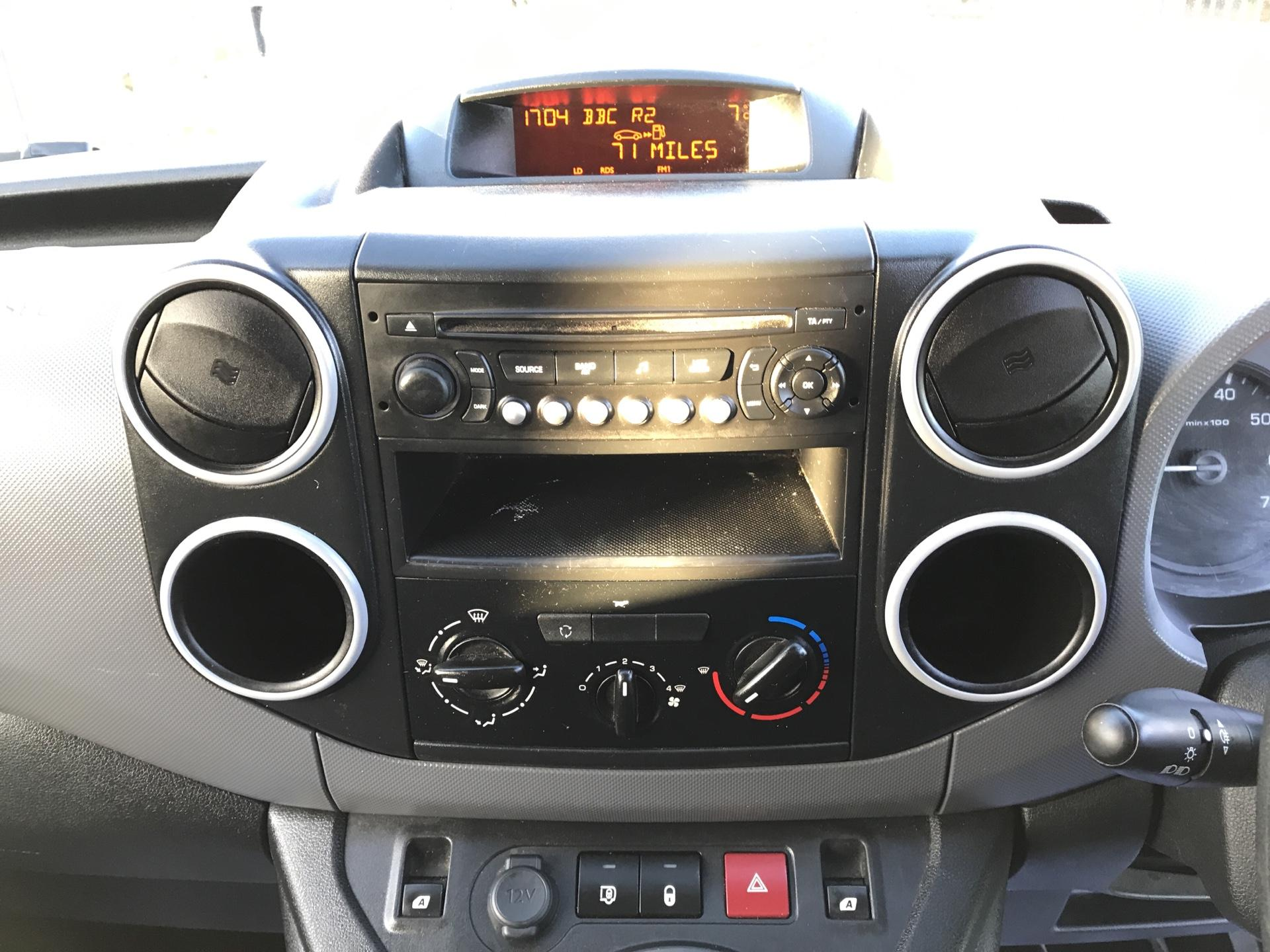 2015 Peugeot Partner L1 850 S 1.6 92PS (SLD) EURO 5 (NU65MHJ) Image 10