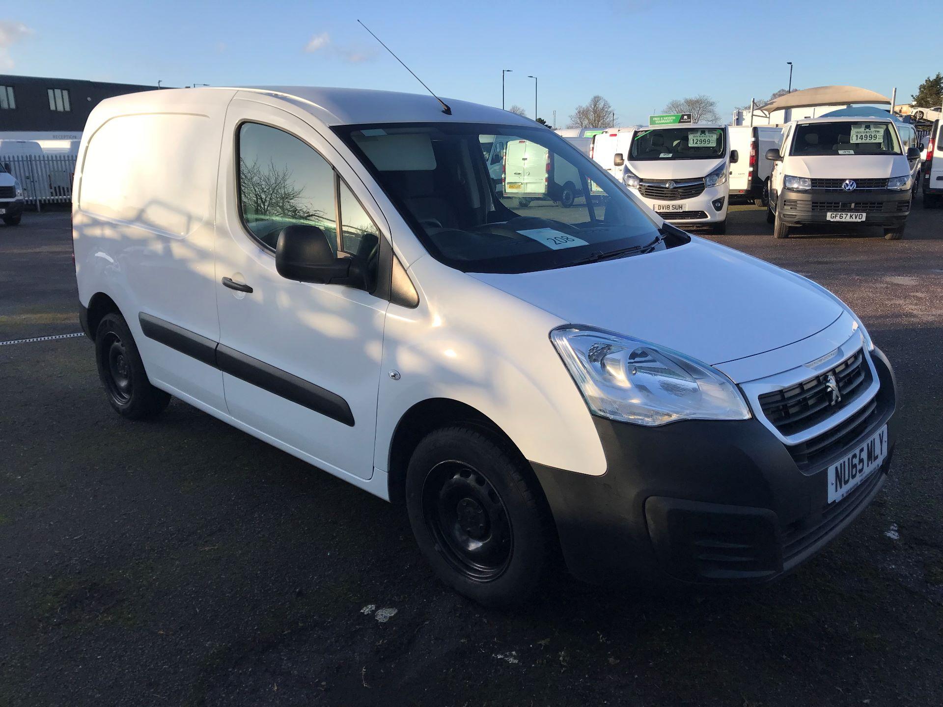 2015 Peugeot Partner  L1 850 1.6 92PS  SE EURO 5 (NU65MLY)
