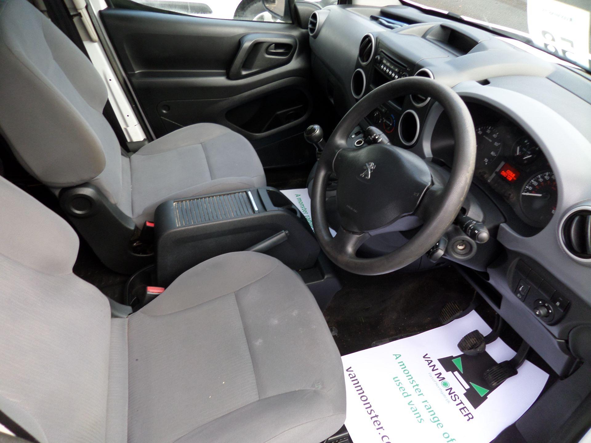 2015 Peugeot Partner 716 S 1.6 Hdi 92 Crew Van Euro 5 (NU65MMX) Image 2