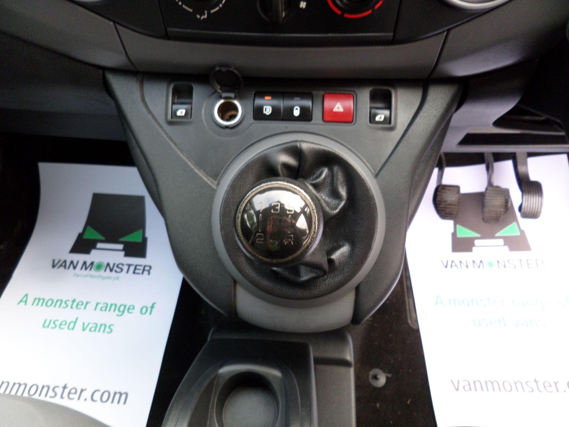 2015 Peugeot Partner 716 S 1.6 Hdi 92 Crew Van Euro 5 (NU65MMX) Image 4