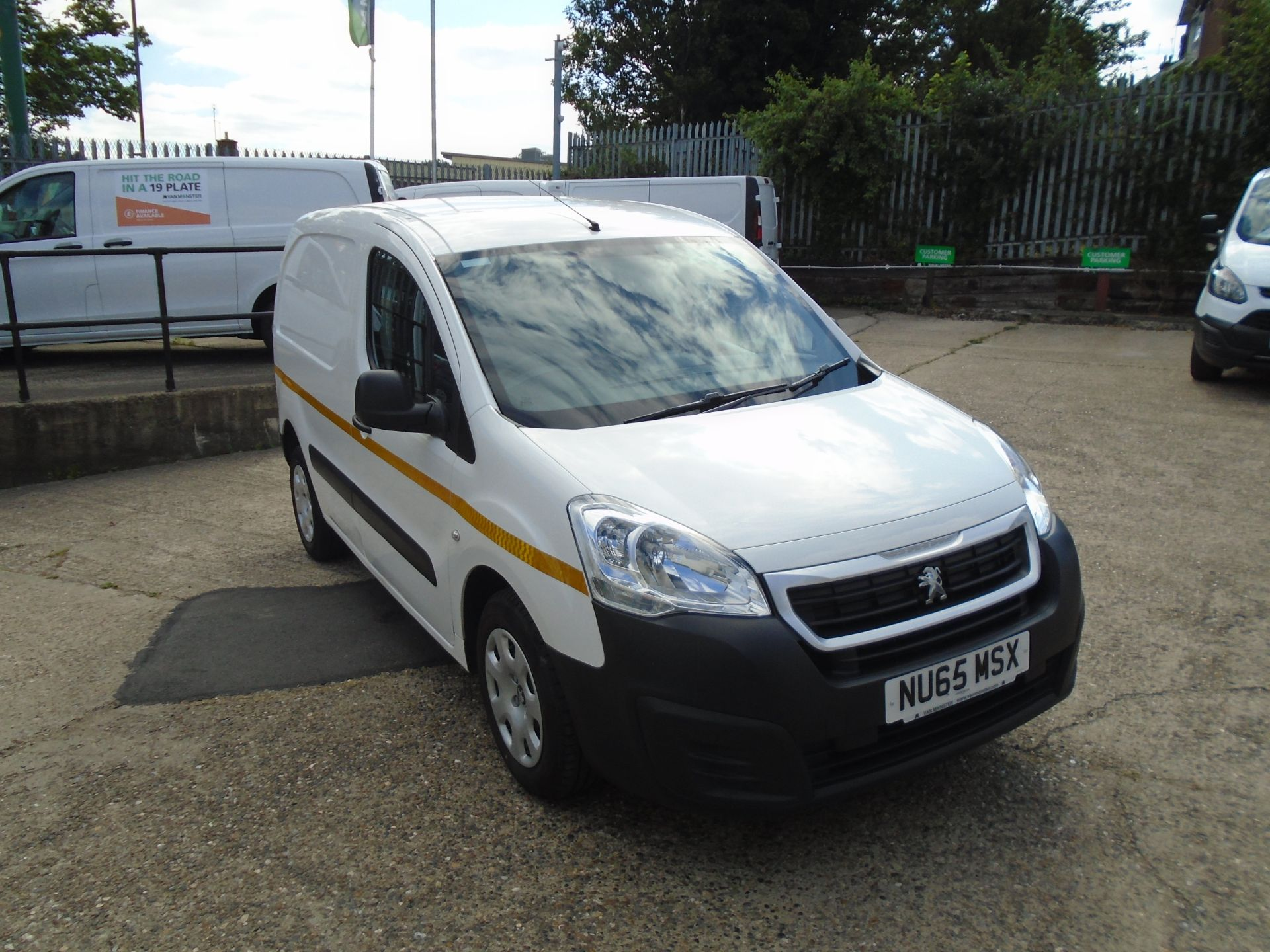 2015 Peugeot Partner 850 S 1.6 Hdi 92 Van [Sld] (NU65MSX)