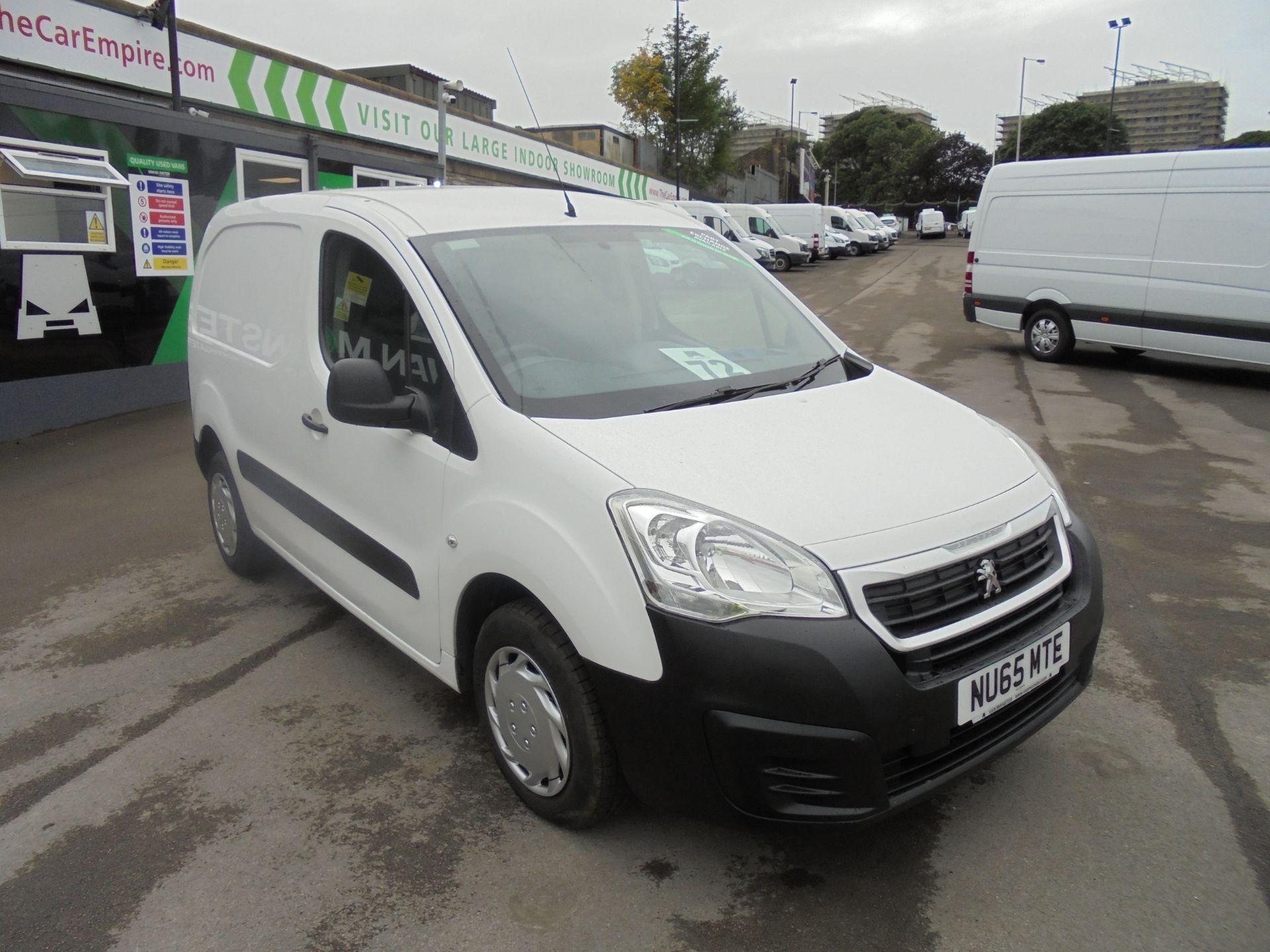 2015 Peugeot Partner 850 S 1.6 Hdi 92 Van [Sld] (NU65MTE)