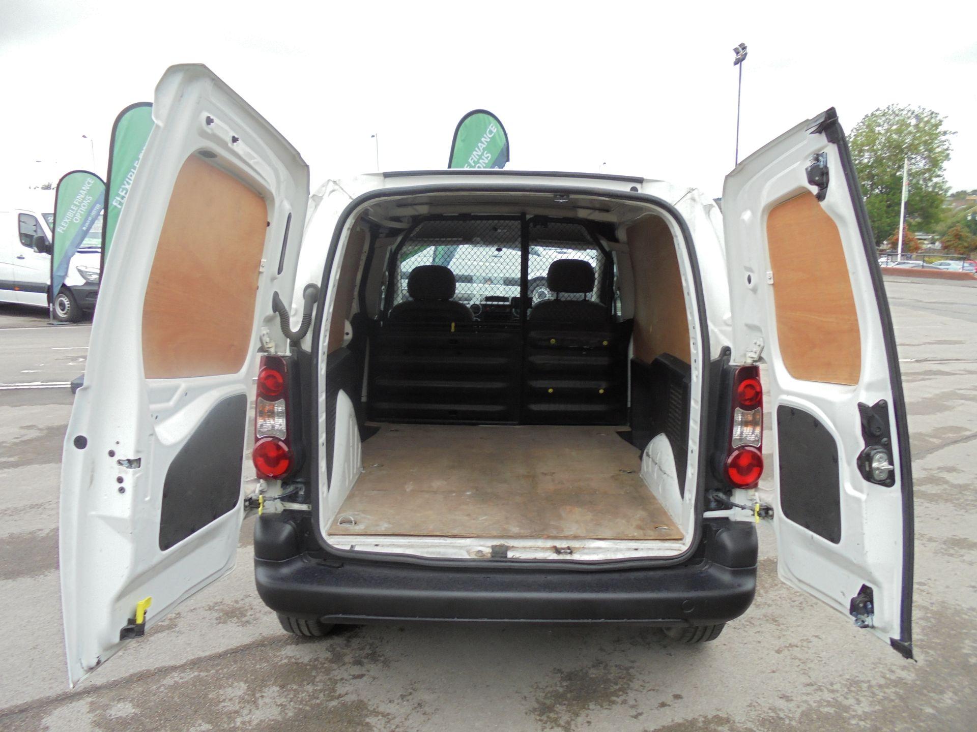 2015 Peugeot Partner 850 S 1.6 Hdi 92 Van [Sld] (NU65MTE) Image 18