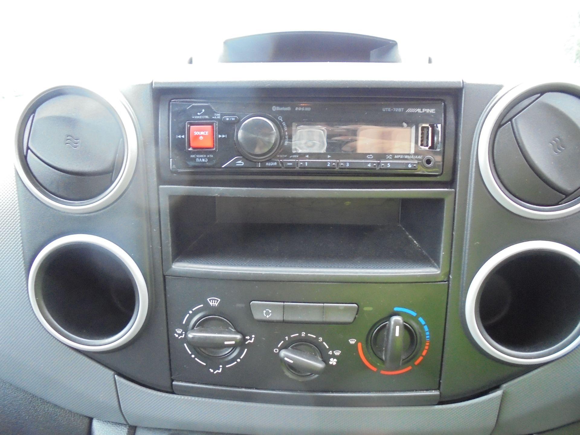 2015 Peugeot Partner 850 S 1.6 Hdi 92 Van [Sld] (NU65MTE) Image 12