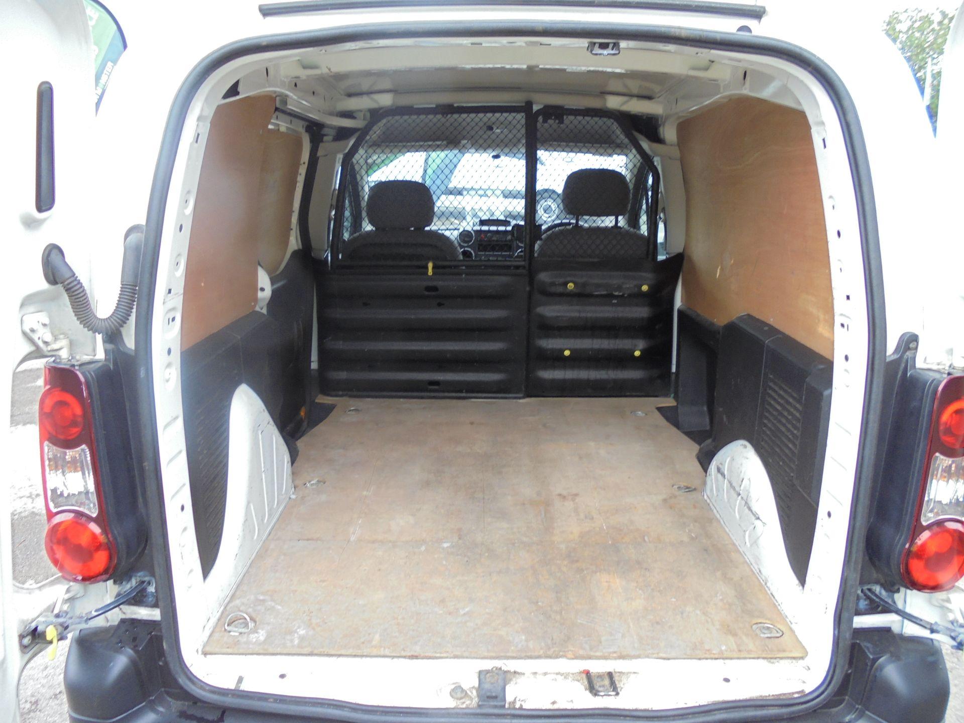 2015 Peugeot Partner 850 S 1.6 Hdi 92 Van [Sld] (NU65MTE) Image 19