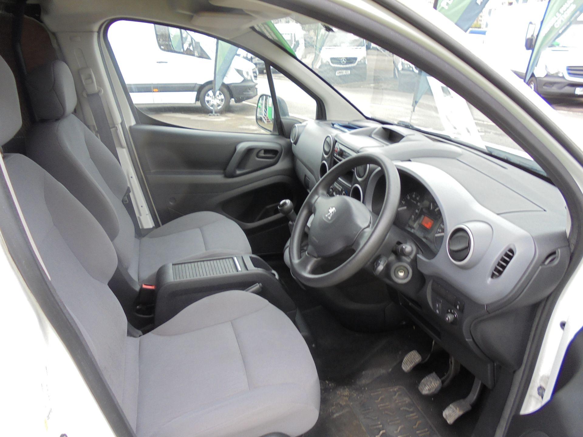 2015 Peugeot Partner 850 S 1.6 Hdi 92 Van [Sld] (NU65MTE) Image 9