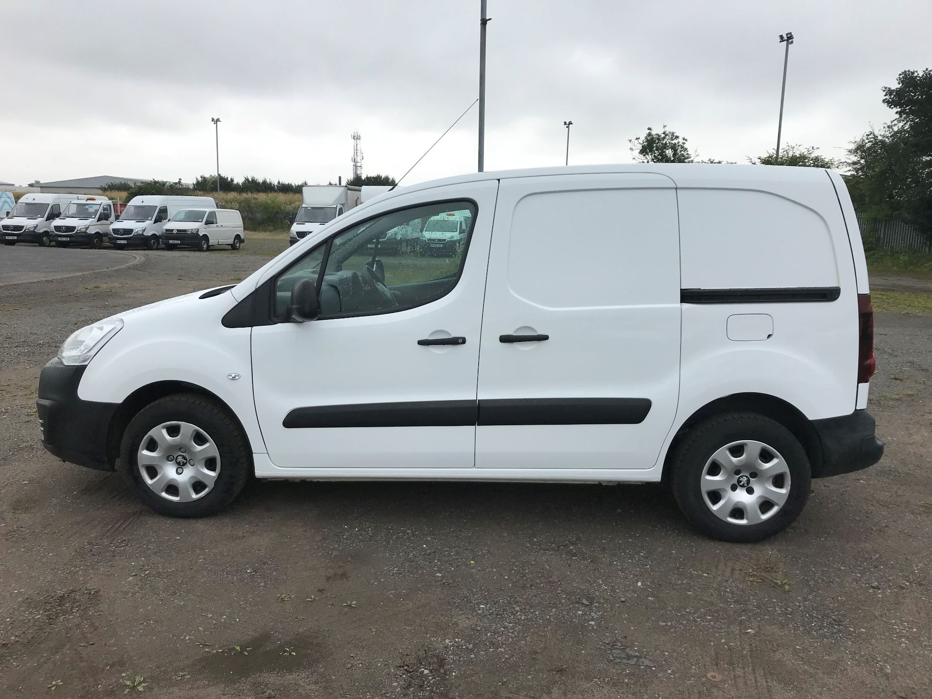 2015 Peugeot Partner 850 S 1.6 Hdi 92 Van [Sld] (NU65PCY) Image 7