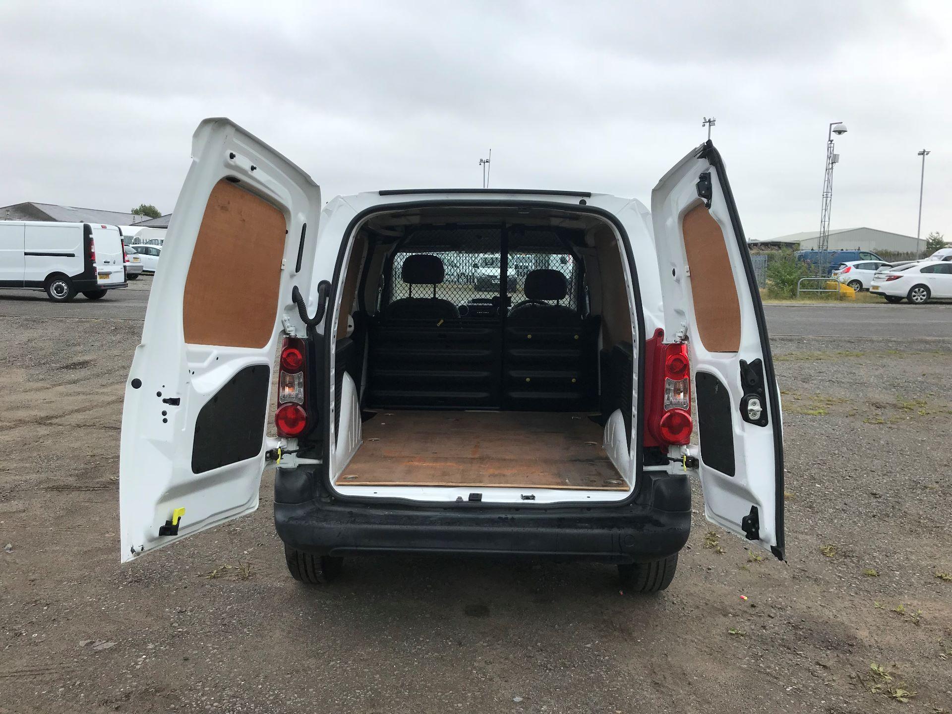 2015 Peugeot Partner 850 S 1.6 Hdi 92 Van [Sld] (NU65PCY) Image 11