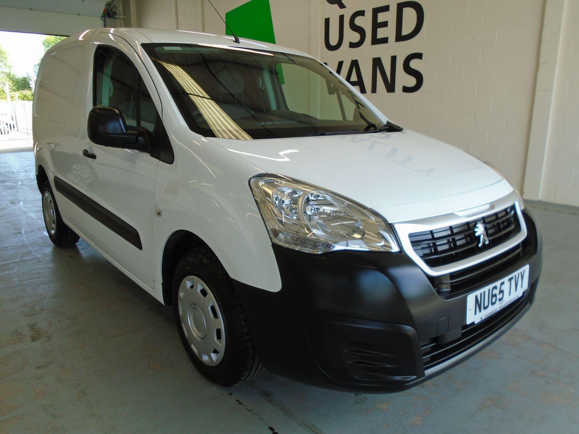 2015 Peugeot Partner 850 S 1.6 Hdi 92 Van [Sld] (NU65TVY)