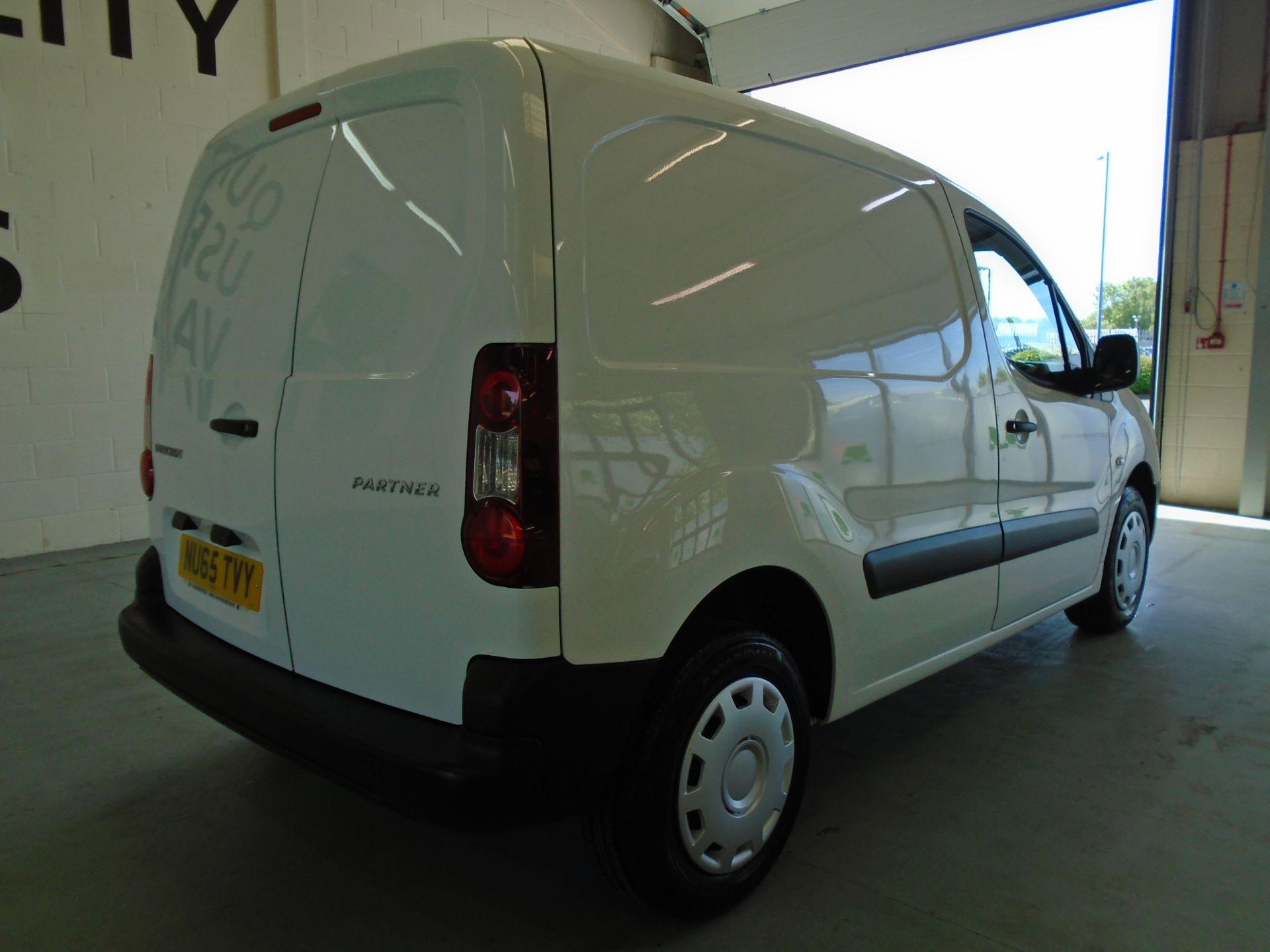 2015 Peugeot Partner 850 S 1.6 Hdi 92 Van [Sld] (NU65TVY) Image 10